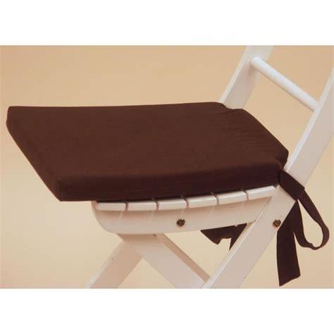 galette de chaise marron galette de chaise marron
