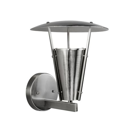 filament design  light brushed nickel outdoor wall sconce