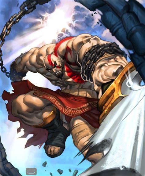 Kratos Cartoons And Comics Character Drawings