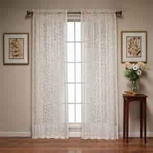 kaitlyn lace curtain panel walmart com