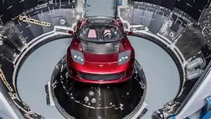 Tesla Dans Lespace : vid o spacex r ussit envoyer une voiture dans l espace industrie a ronautique aeronewstv ~ Nature-et-papiers.com Idées de Décoration