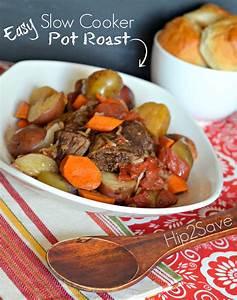 Easy Slow Cooker Pot Roast Recipe – Hip2Save