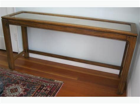 Vintage Oak, Wicker & Glass Sofa Table Saanich, Victoria Small Storage Sectional Sofa Yellow Leather Recliner Top Grain Ashley Furniture Made In Usa Reclining Side C Table Loveseat Plastic Covers Lazy Boy Atlanta Uk Oversized Dimensions