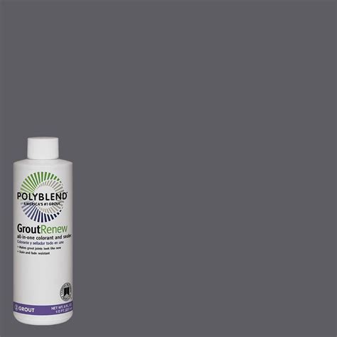 custom building products polyblend 370 dove gray 8 fl oz grout renew colorant gcl370hpt the