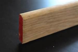 Plinthe Bois Massif : plinthe en ch ne massif 13 x 50 mm bord arrondi ou bord ~ Melissatoandfro.com Idées de Décoration