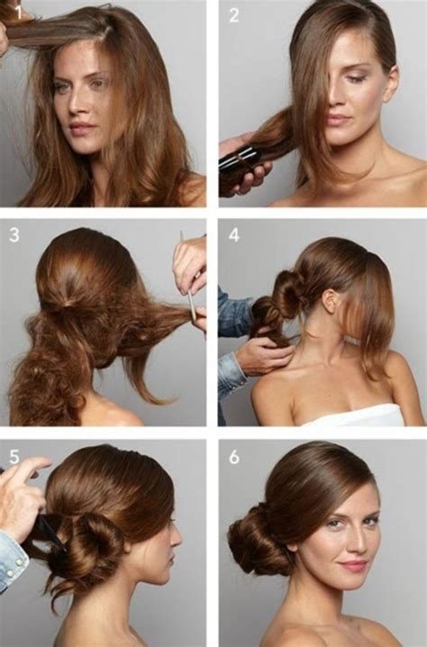 quick  easy step  step hairstyles  girls