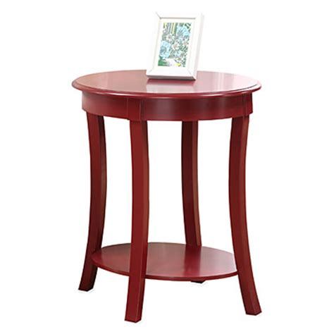 Red Oval Side Table Big Lots