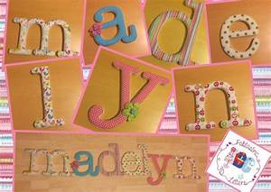 78 best images about fabric covered wall letters on With fabric covered letters for nursery