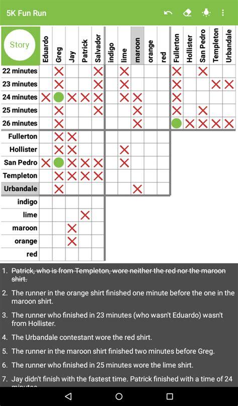 amazoncom logic puzzles mind teaser grid game