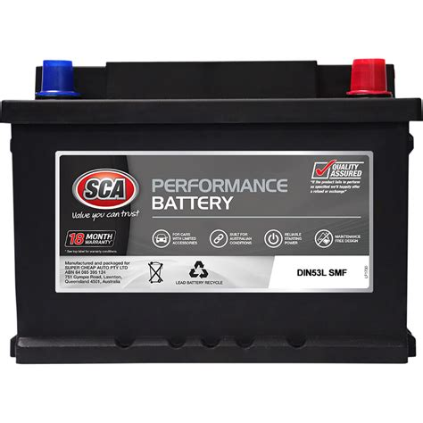 Contrary to popular belief, the battery doesn't provide power for the car's electrical systems while the car is running; SCA Car Battery Performance - DIN53LMF 450CCA   Supercheap ...