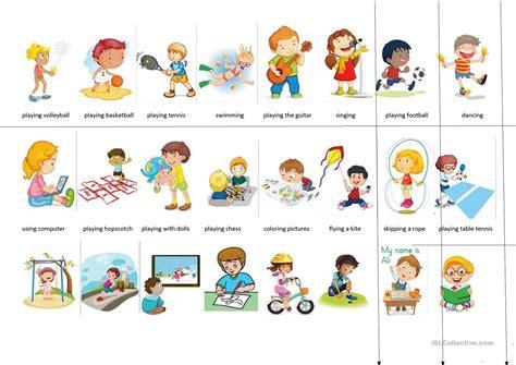 what do preschoolers like what do you like to do like dislike worksheet free esl 692