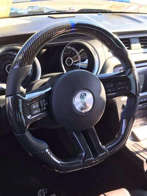 mustang fully custom steering wheel built