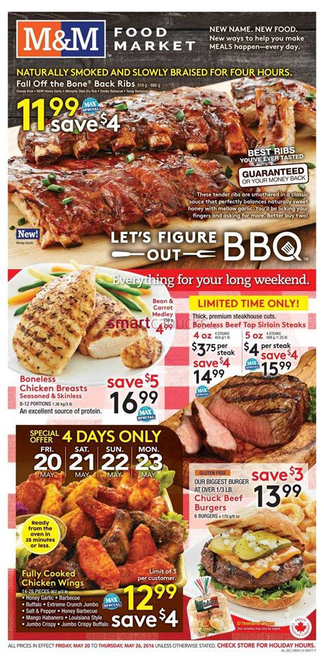 m cuisine m m food market flyer may 20 to 26