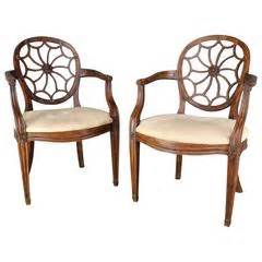 pair of baroque high back chairs for sale at 1stdibs