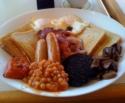 cuisine haricot blanc breakfast petit déjeuner anglais recette de