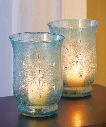 blue glass candle holders foter