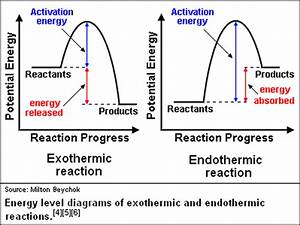 Comparing Endothermic And Exothermic Potential Energy