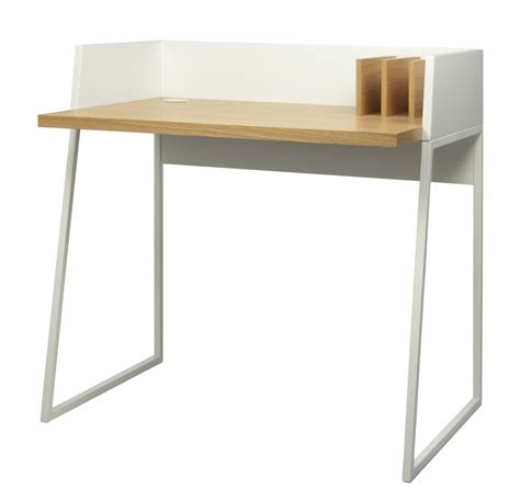 bureau ups bureau working blanc chêne pop up home