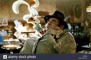 ROGER RABBIT & BOB HOSKINS WHO FRAMED ROGER RABBIT (1988 ...