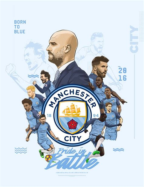 manchester city poster  behance football manchester