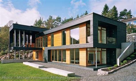 harmonious modern style homes design quot moderne quot kledning uten endebord hva brukes byggebolig