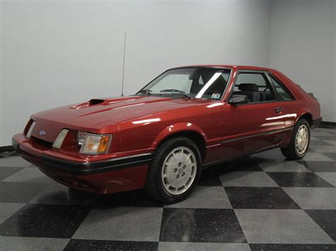 1986 Ford Mustang by 1986 Ford Mustang Svo Hatchback 2 Door For Sale