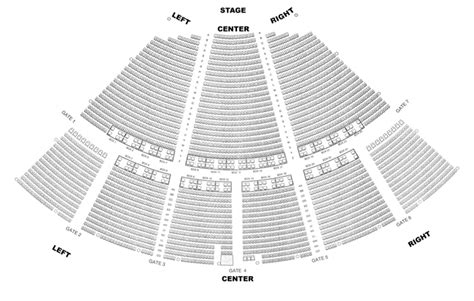 venue seating charts fm  drive wdrv chicago