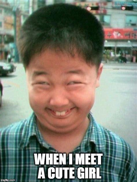 Rainy Chinese Girl Meme - funny kid smile imgflip