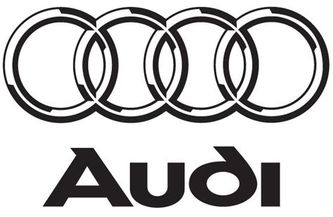 audi logo black and white audi cartype