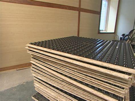 How To Install Subfloor Panels  Howtos Diy