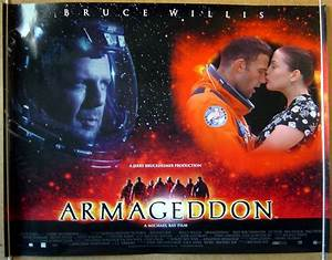 Armageddon - Original Cinema Movie Poster From pastposters ...