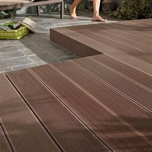 Lame Composite Pour Terrasse Leroy Merlin : lame de terrasse en composite leroy merlin wasuk ~ Zukunftsfamilie.com Idées de Décoration