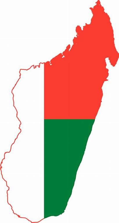 Madagascar Map Clip Facts Culture Clipart Flag