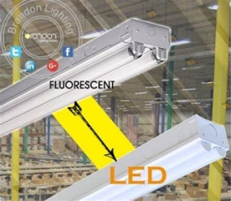 convert fluorescent light fixture to led 4 and 8 inch led retrofit kits convert fluorescent