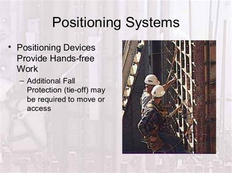 fall protection systems training