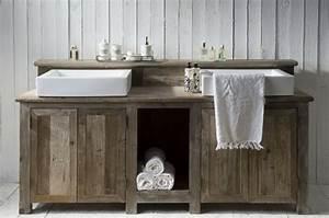 Badezimmer Waschtisch Holz : waschtisch holz rustikal ihr traumhaus ideen ~ Frokenaadalensverden.com Haus und Dekorationen