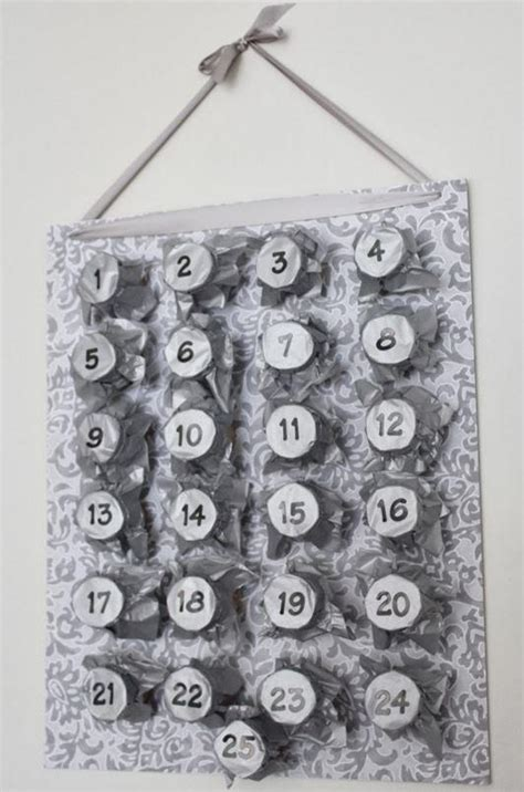 decorative toilet paper roll advent calendar