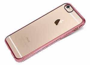 Coque Rose Iphone 6 : coque iphone 6 plus 6s plus rose gold flex strass master ~ Teatrodelosmanantiales.com Idées de Décoration