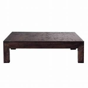 Table En Manguier : table basse en manguier massif l 120 cm bengali maisons du monde ~ Teatrodelosmanantiales.com Idées de Décoration