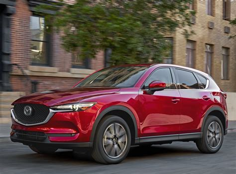 Redesigned 2017 Mazda Cx-5 Compact Crossover Now Arriving