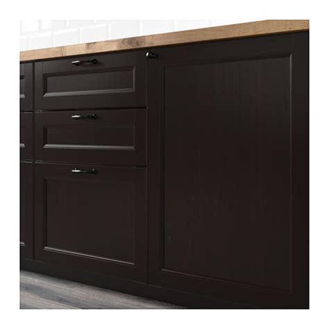 Montage Armoire Four Ikea by Laxarby Door Black Brown 60x80 Cm Ikea