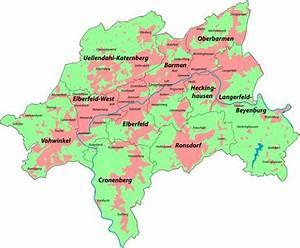 Wuppertal Google Maps : stadt wuppertal bezirke und stadtteile stadtplan ~ Yasmunasinghe.com Haus und Dekorationen