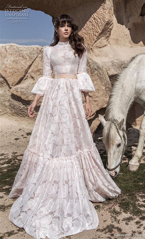 katherine joyce  wedding dresses wind desert