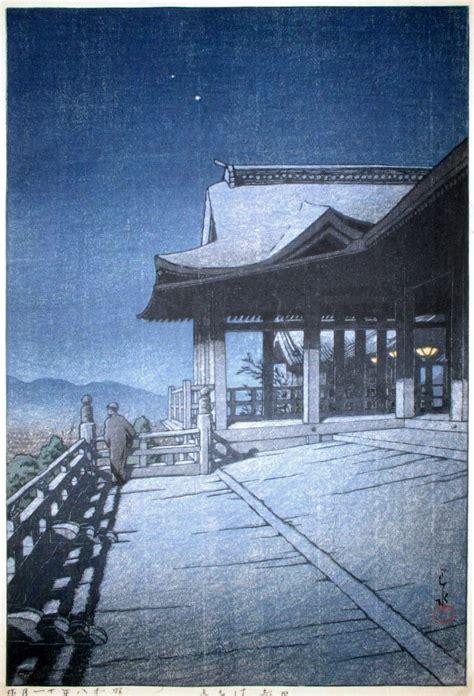 modern woodblock prints  kawase hasui thomas schmall
