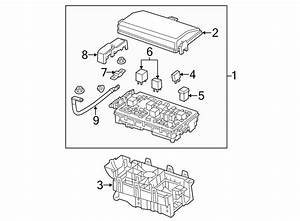 Buick Lacrosse Fuse And Relay Center  Engine Compartment