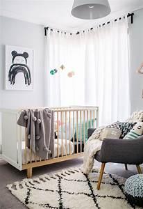 Chambre Bebe Design Scandinave : chambre b b scandinave le blanc de l innocence obsigen ~ Teatrodelosmanantiales.com Idées de Décoration