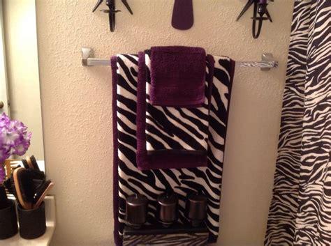 purple zebra bathroom sets house decor ideas