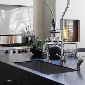 Design wasserhahn kuche aequivalere for Wasserhahn küche wei