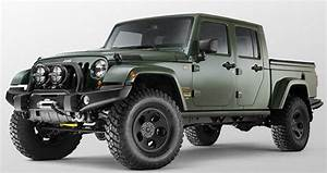 Jeep Wrangler Pick Up : 2018 jeep wrangler pickup specs price news release date ~ Medecine-chirurgie-esthetiques.com Avis de Voitures