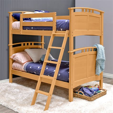 astoria hardwood bunk bed epoch design